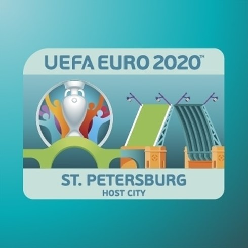 Saint-Petersburg is the host city for UEFA 2020.